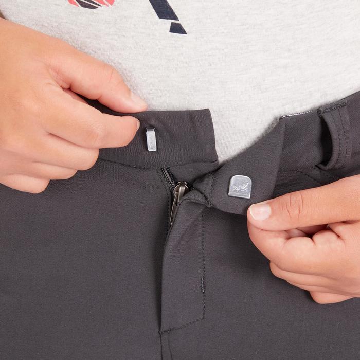 Kinderrijbroek 560 Grip met siliconen inzetstukken donkergrijs