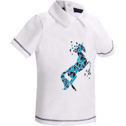 Reit-Poloshirt Kurzarm PL100 Baby