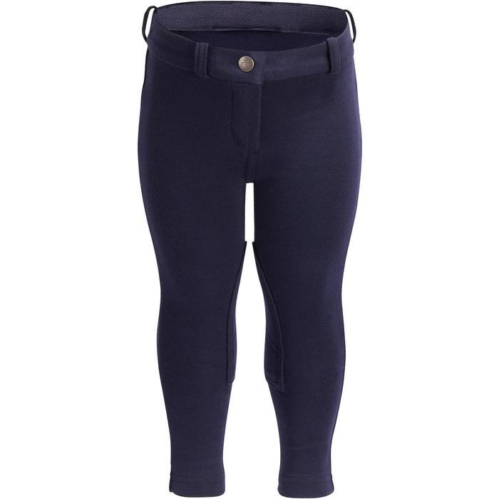Pantalon équitation baby BR100 marine - 1253027