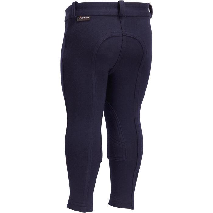 Pantalon équitation baby BR100 marine - 1253028