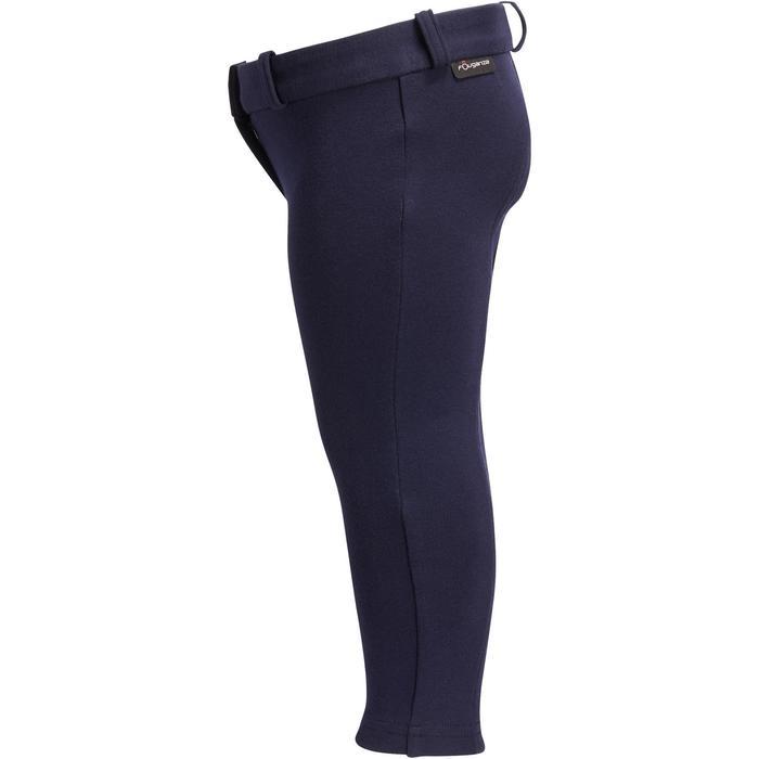 Pantalon équitation baby BR100 marine - 1253030