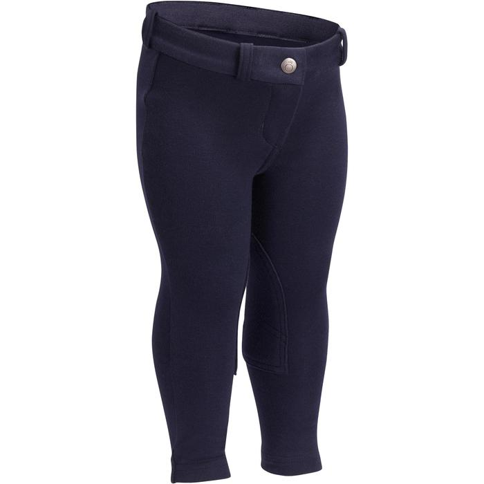 Pantalon équitation baby BR100 marine - 1253032