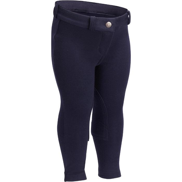 Pantalon équitation baby BR100 marine