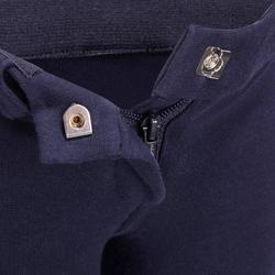 Pantalón equitación bebé BR100 azul marino