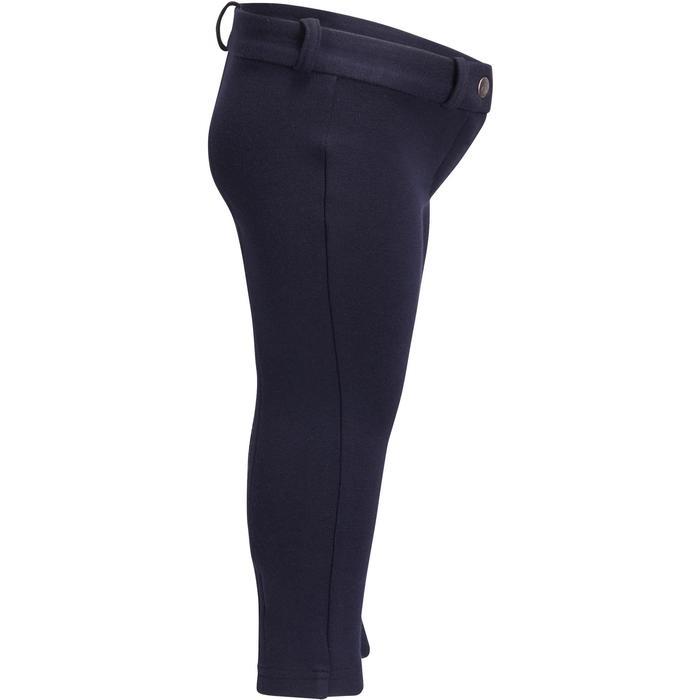 Pantalon équitation baby BR100 marine - 1253039