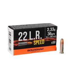BALA SPEED 22 LONG RIFLE X50