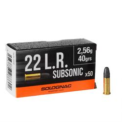 BALLE 22 Long Rifle Subsonique Solognac