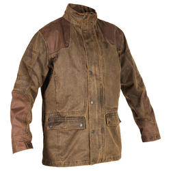 Chaqueta Caza Verney Carron Fox Game Original Impermeable Marron