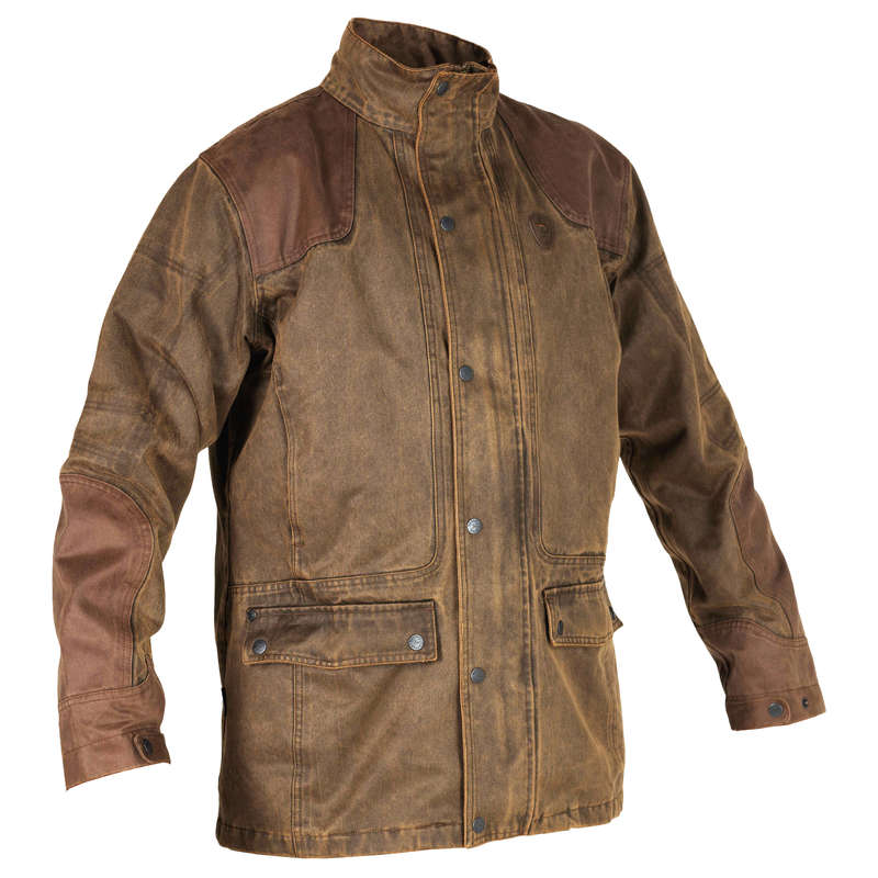 REINFORCED WARTERPROOF CLOTHING Shooting and Hunting - VC FOX GAME ORIGINAL JACKET VERNEY CARRON - Hunting and Shooting Clothing