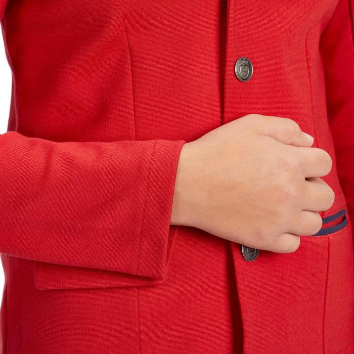 Veste de Concours équitation enfant COMP100 rouge