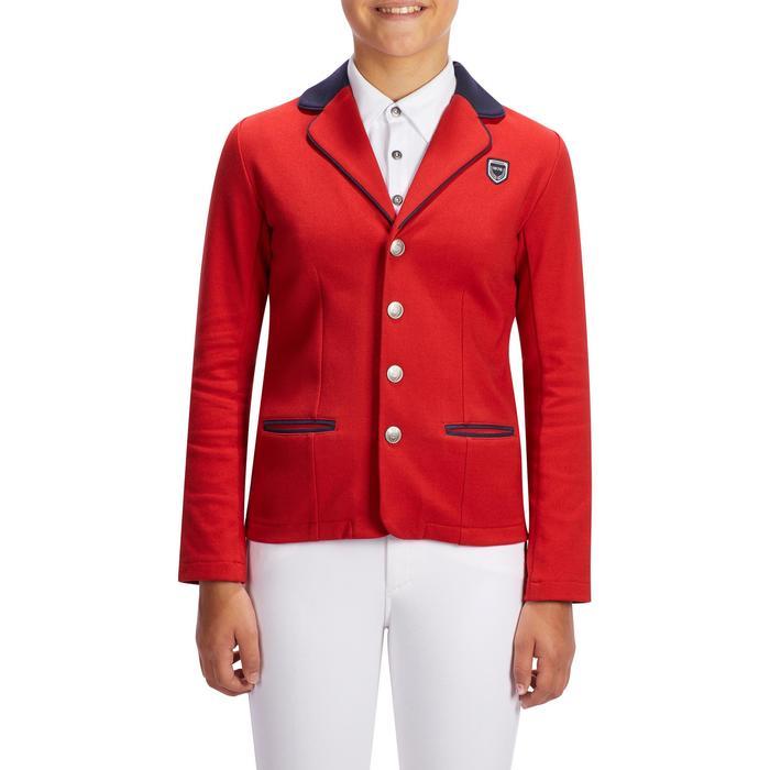 Veste de Concours équitation enfant COMP100 - 1253212