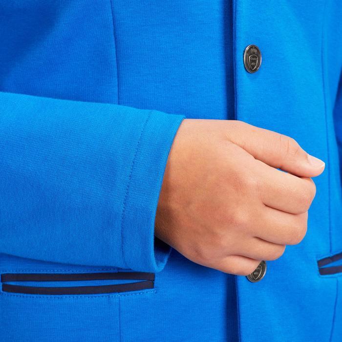 Turnierjacket COMP100 Kinder Reiten royal blue