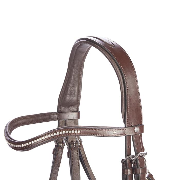 Bridon équitation 580 STRASS taille cheval - 1253239