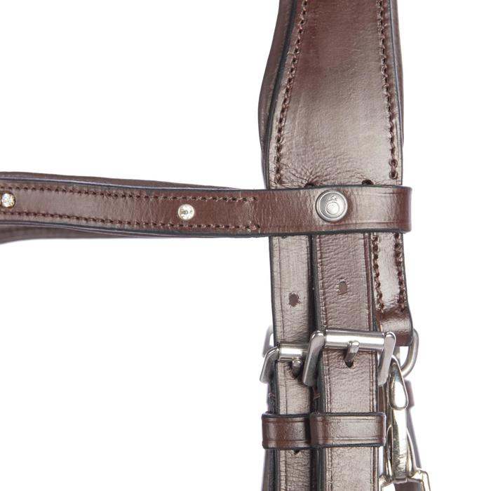 Bridon équitation 580 STRASS - taille poney - 1253246