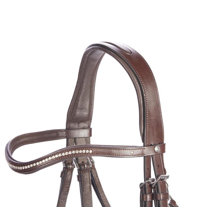 Bridon équitation 580 STRASS - taille poney - 1253247
