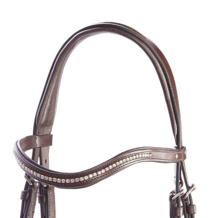 Bridon équitation 580 STRASS - taille poney - 1253249