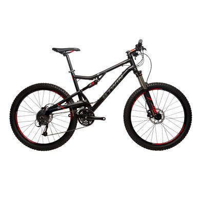 VTT SUSPENDU ROCKRIDER 520 NOIR/ORANGE