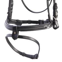 Bridon équitation 580 SURPIQUE noir - taille cheval