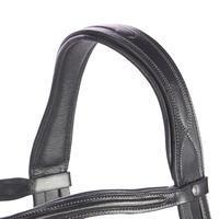Bridon équitation580 SURPIQUÉ noir - taille cheval