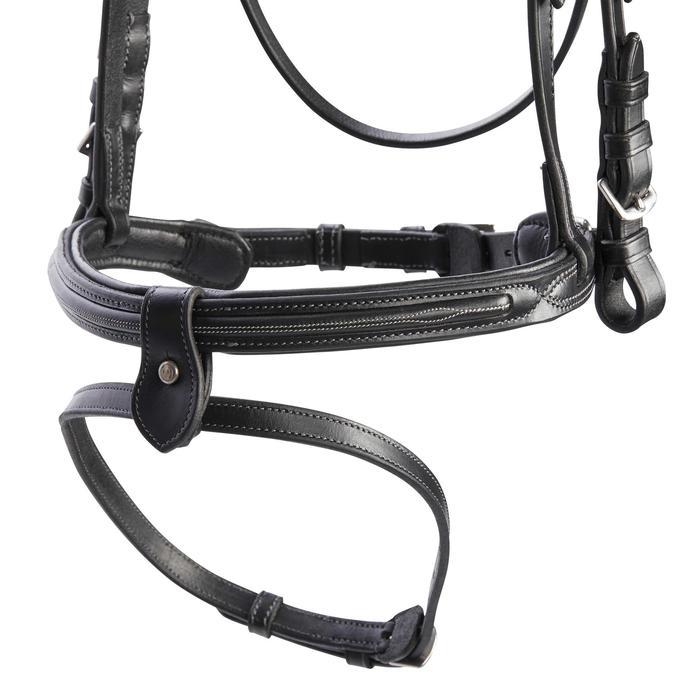 Bridon équitation 580 SURPIQUE noir - taille poney