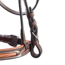 縫飾馬術馬籠頭580-棕色