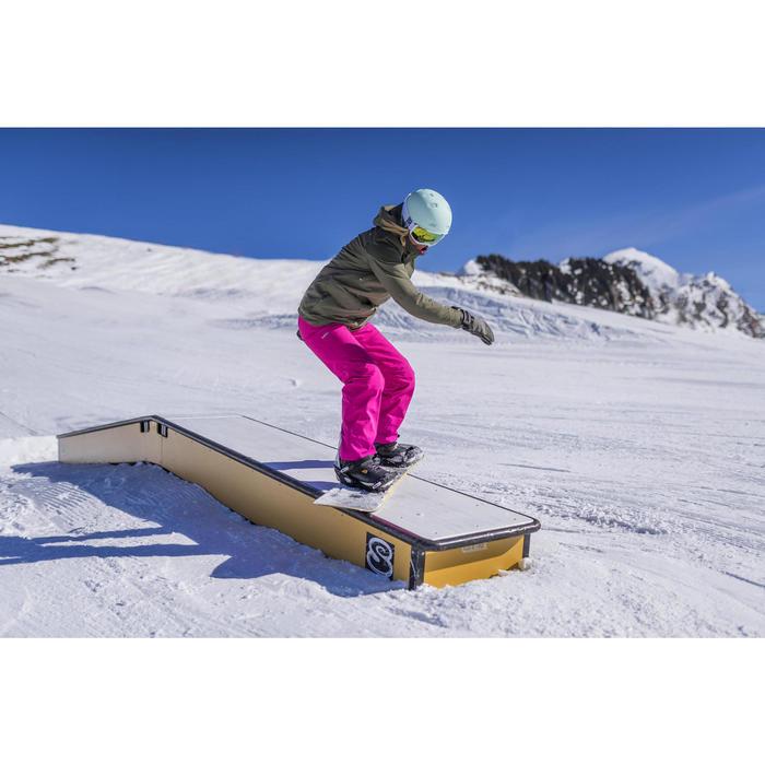 VESTE SKI ET SNOWBOARD FEMME FREE 700 VERT - 1253390