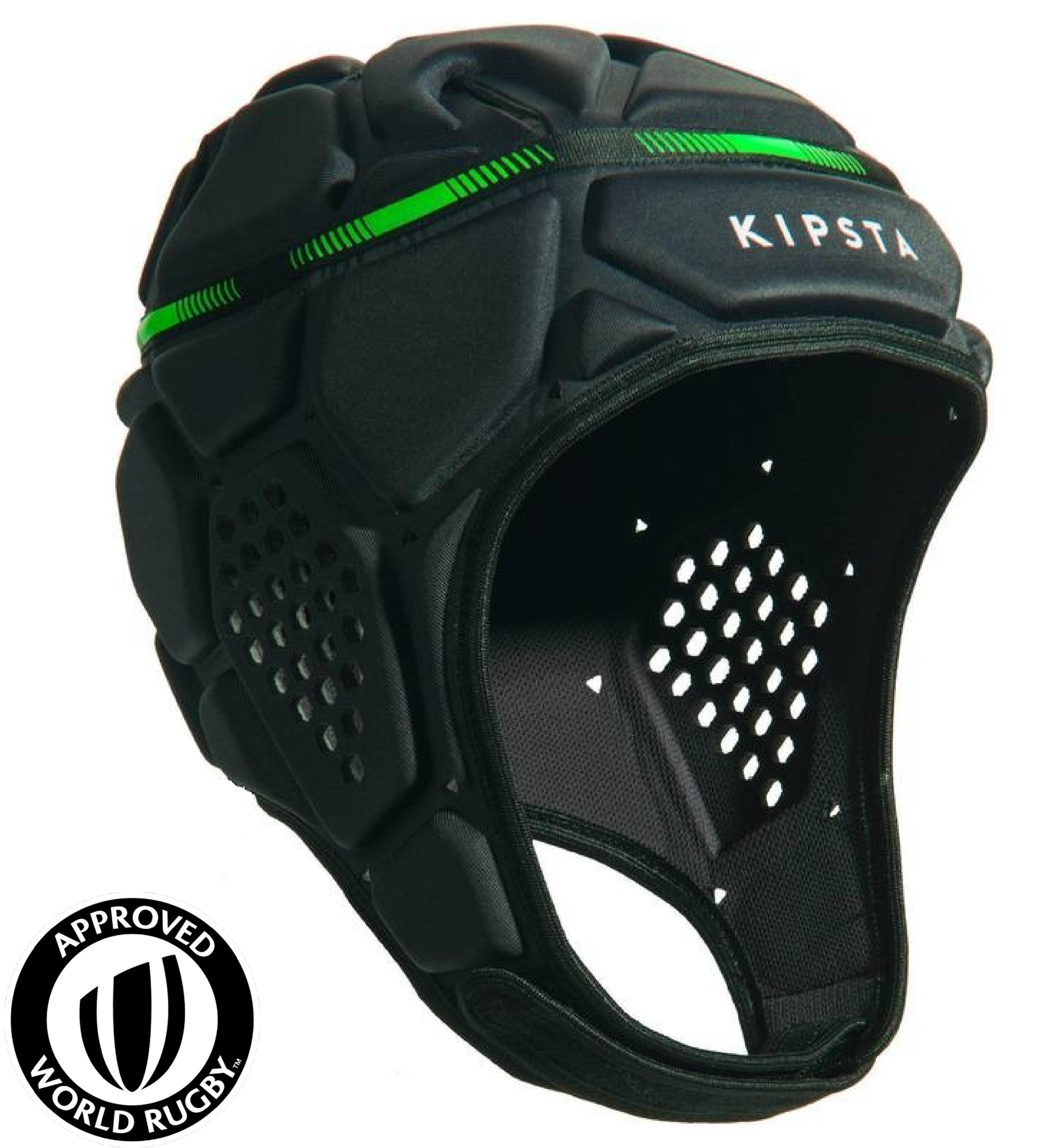 Full H 500 Rugby Scrum Cap - Dark Grey/Green