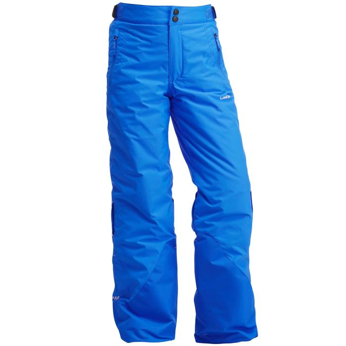 597861561 Children'S Ski Trousers Ski-P Pa 500 Pnf - Black - Decathlon