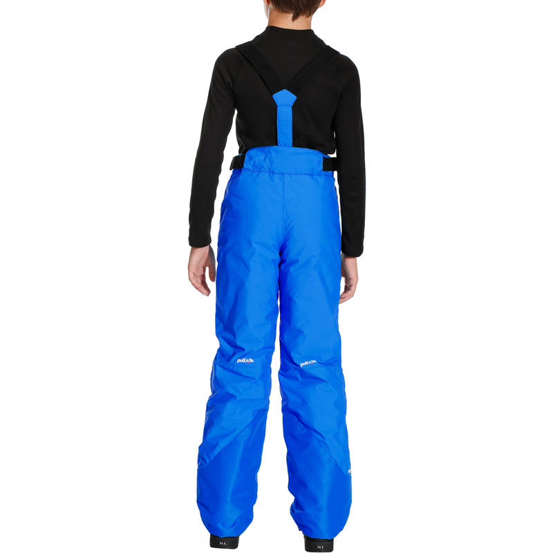 CHILDREN'S SKI TROUSERS PNF 500 - BLUE