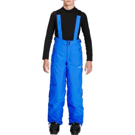 CHILDREN'S SKI TROUSERS PNF 500 - BLUE