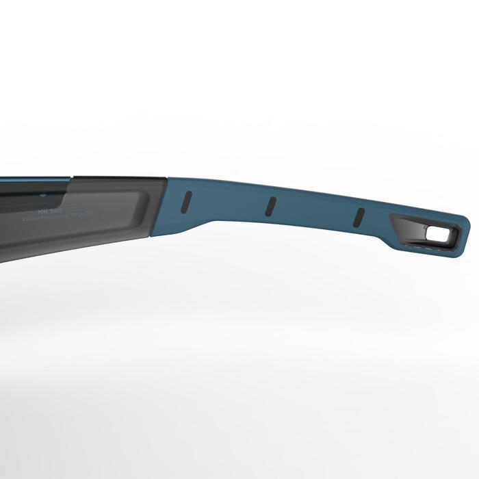 Lunettes de randonnée adulte MH 590 noires & bleues catégorie 4