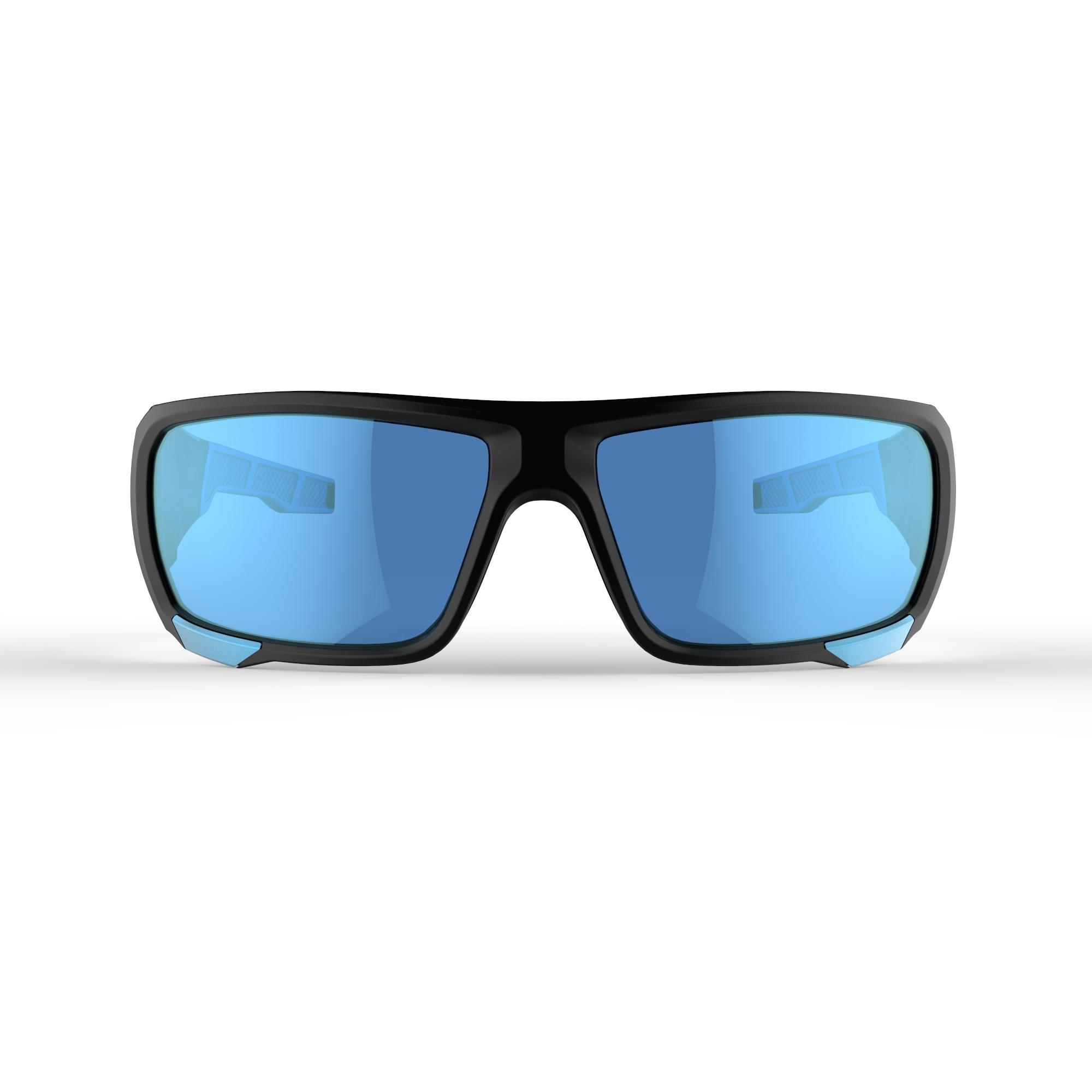 Adult MH910 hiking goggles Cat 4 +2 interchangeable lenses – Black/Blue