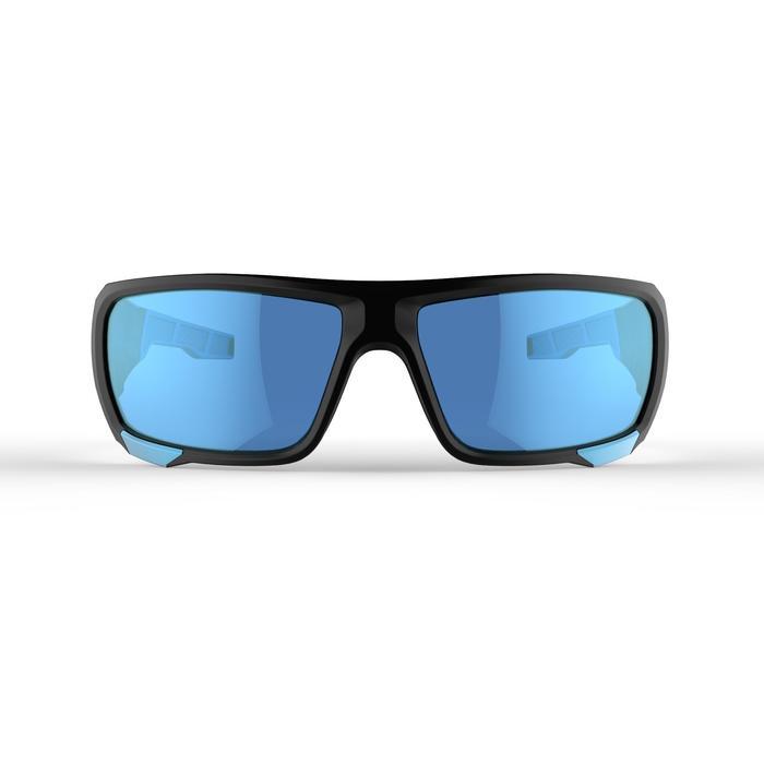 Lunettes de randonnée adulte MH 910 noires/bleues verres interchangeables cat4+2 - 1253602