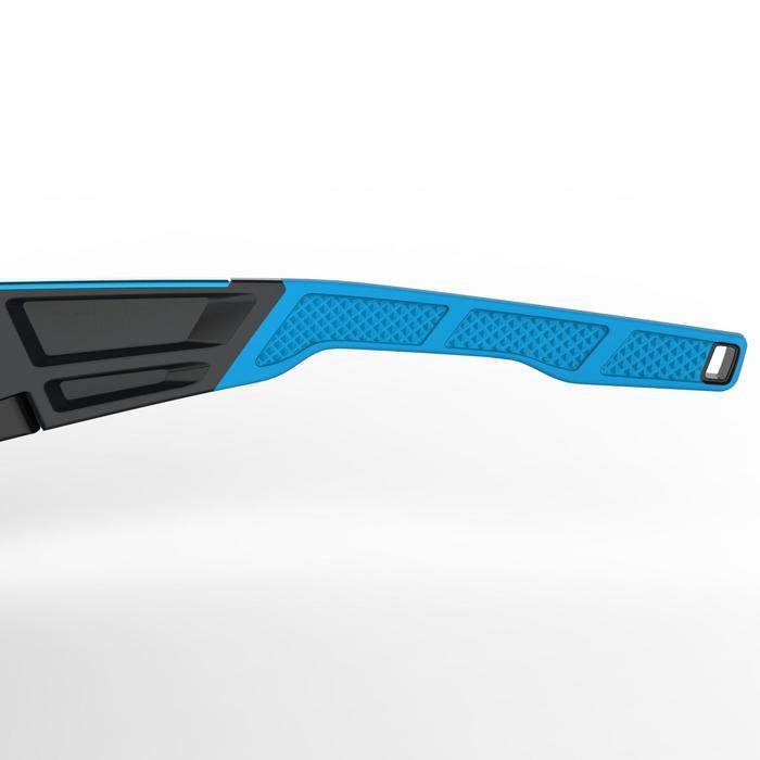 Lunettes de randonnée adulte MH 910 noires/bleues verres interchangeables cat4+2 - 1253620