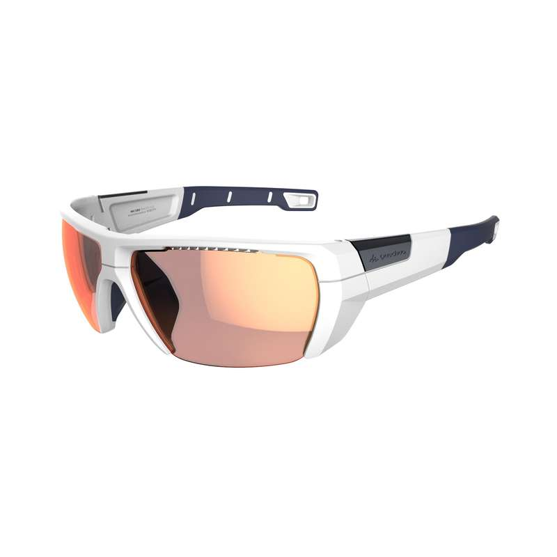 ADULT MOUNTAIN HIKING SUNGLASSES Hiking - MH590 PHOTO CAT2 => CAT4-WHITE QUECHUA - Hiking