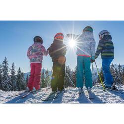 兒童滑雪長褲Ski-P 500 PNF - 藍色