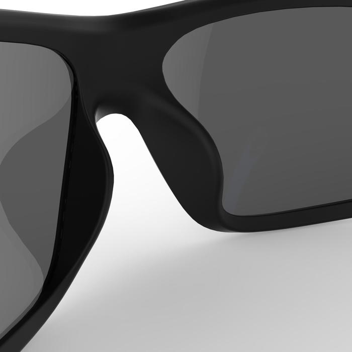 Gafas de sol para vela adulto 500 negro y azul polarizadas de categoría 3