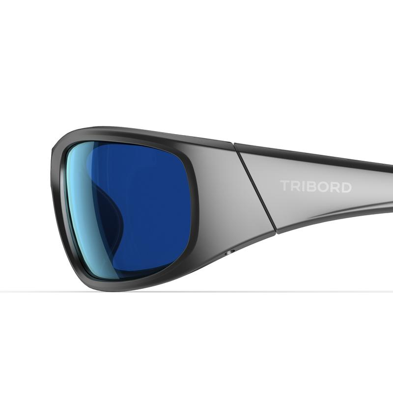 Adult Sailing Floating Polarised Sunglasses 900 Category 3 - Grey