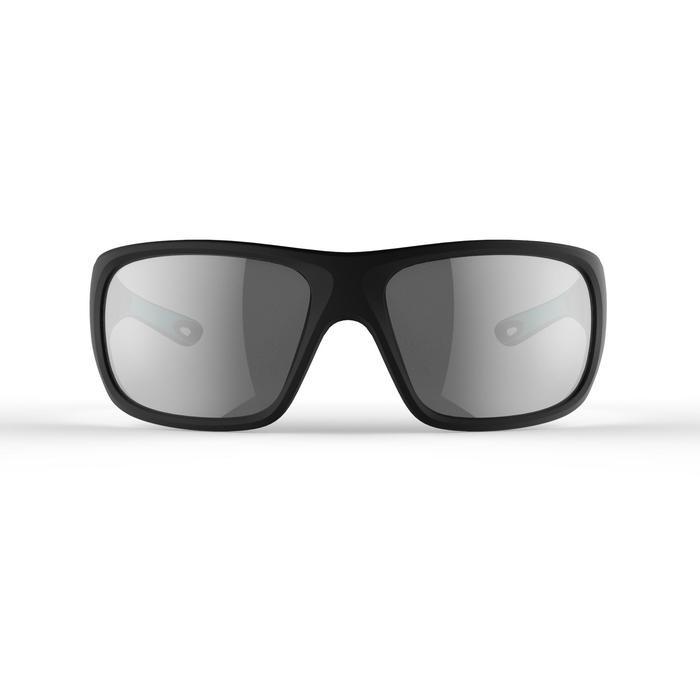 Sonnenbrille Sport Segeln 500 Erwachsene polarisiert Kat. 3 schwarz/türkis
