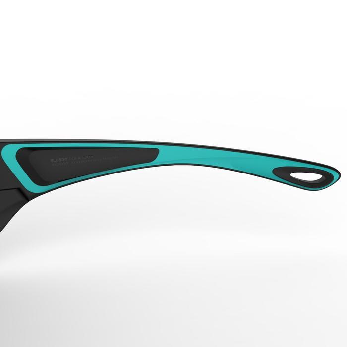 Gafas de vela adulto SAILING 500 polarizadas negro azul turquesa categoría 3