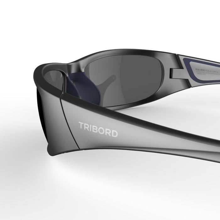 Sonnenbrille Sport Segeln 900 schwimmfähig polarisiert Kategorie 3 grau