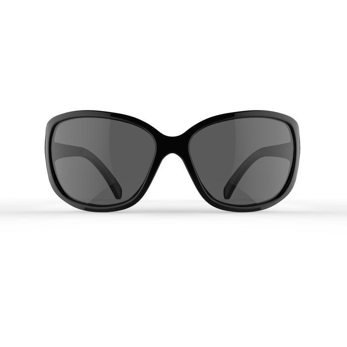 Sonnenbrille polarisierend Wandern MH530 Kategorie3 Damen schwarz