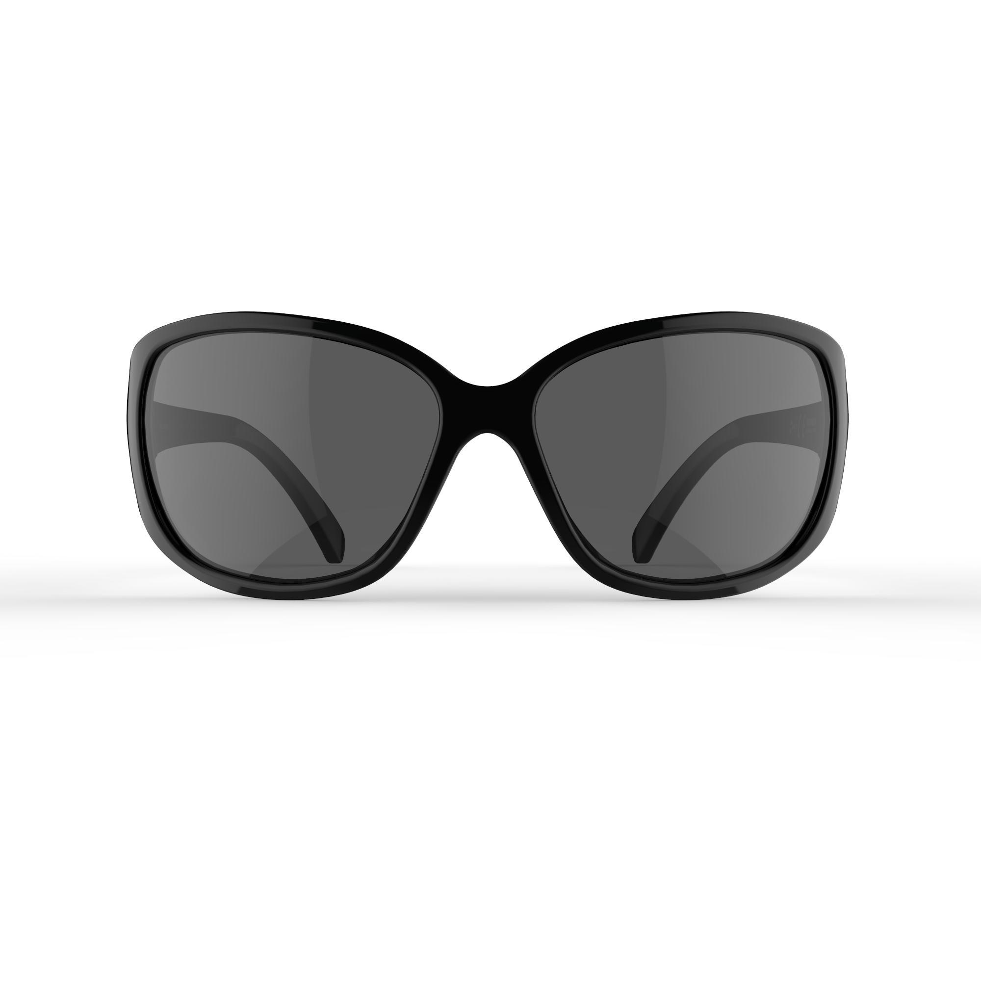 Women's Hiking Sunglasses MH530W Category 3 (Polarised) - Black