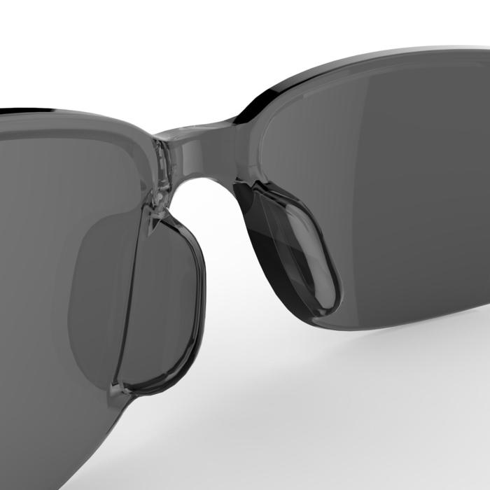 Sonnenbrille Wandern MH100 Kategorie 3 Erwachsene schwarz