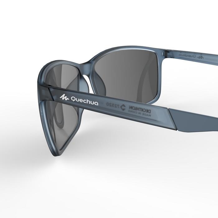 Zonnebril MH 120 voor wandelen, voor volwassenen, blauw polariserend categorie 3