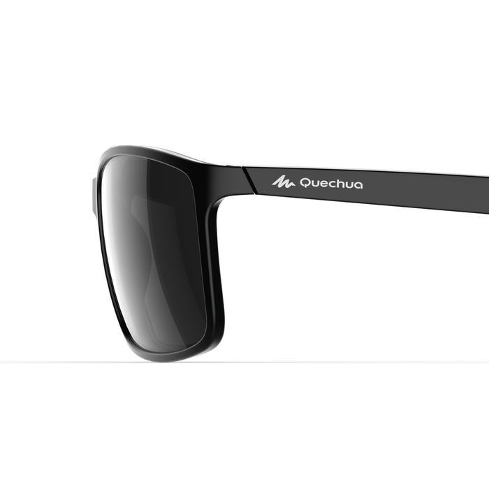 Gafas de sol de senderismo MH120 negro categoría 3