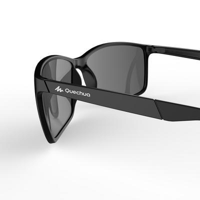 Gafas de sol de caminata deportiva WALKING 300 negro categoría 3