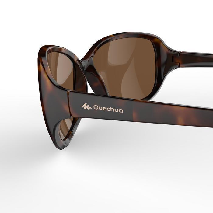 Sonnenbrille polarisierend Wandern MH530 Kategorie 3 Damen braun