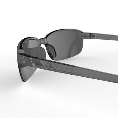 Gafas de sol deportivas adulto RIDGE negro categoría 3