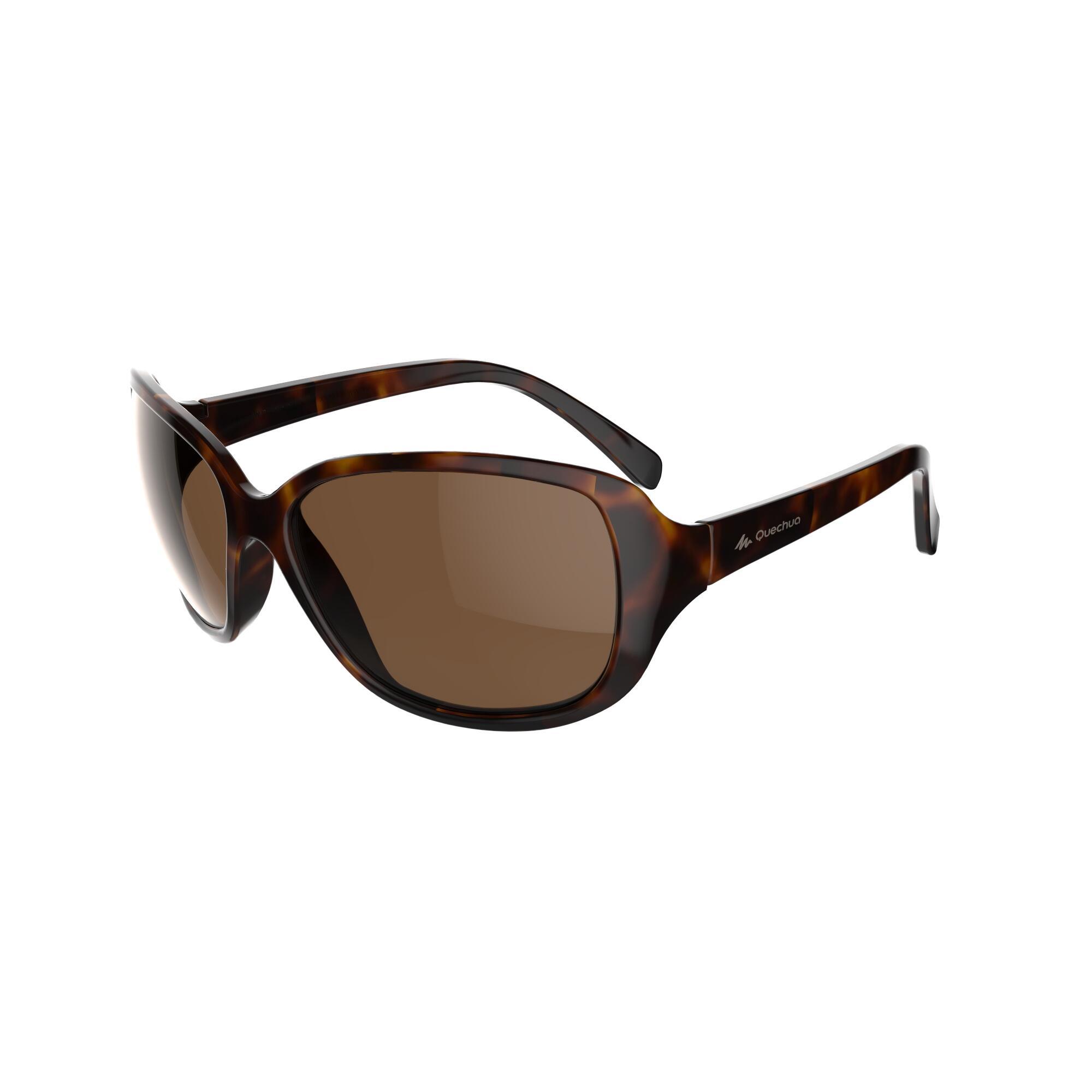 Sonnenbrille Sportbrille MH530 polarisierend Kategorie 3 Damen braun | Accessoires > Sonnenbrillen | Braun | Quechua